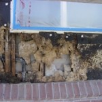 leaking window