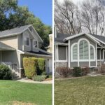 Stucco Remodel Before & After in Holladay, Utah by RAM Builders Stucco & Exteriors